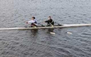 Лодка для гребли