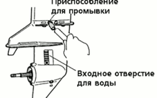Консервация лодочного мотора на зиму