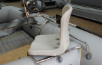 Поворотное кресло для лодки