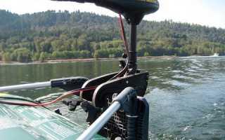 Лодочный мотор аккумуляторный