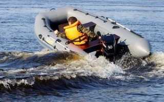 Скорость лодки с мотором 5 л с