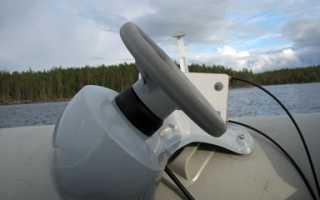 Рулевая консоль для лодки пвх своими руками