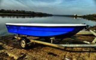 Купить лодку из стеклопластика