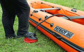 Насос для лодки пвх ножной