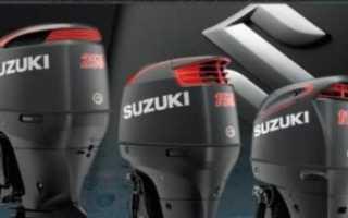 Характеристика лодочного мотора suzuki