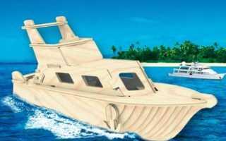 Яхта своими руками из фанеры