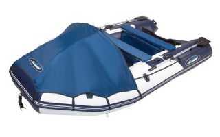 Лодка гладиатор 350 с надувным дном