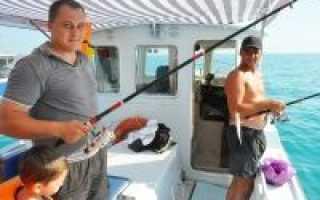 Морская рыбалка в анапе цены