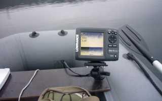 Как закрепить эхолот на лодке пвх