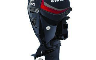 Лодочный мотор evinrude